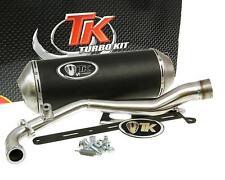 Auspuff Sport mit E Zeichen Turbo Kit GMax 4T für Yamaha BWs 125 Zuma