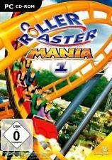 Roller coaster Mania 1-Coaster Montagnes russes simulator pour pc NEUF/OVP
