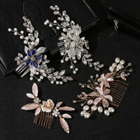 Hair Accessories Jewelry Bridal Tiara Hair Combs Hair Ornaments Flower Hair Pin