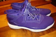 Adidas Men's Purple Athletic Sports Wear Shoes Sneakers Size 19 EUC     Box