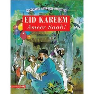 Eid Karem Ameer Saab! (paperback)  ramadan kids gift children