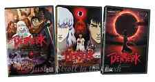 Berserk: The Golden Age: Complete Movies Series Trilogy 1 2 3 Box / DVD Set(s)