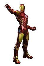 "KOTOBUKIYA Marvel Comics_Marvel Now IRON MAN 8 ½ "" ArtFx+ statue_Red Variant_MIB"