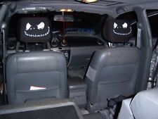 New Jack Nightmare Before Christmas 2 Car Headrest Covers