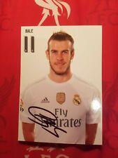 Gareth Bale AutographTopps Summer Signings 2020//2021Set à la demande