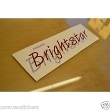 ABI Award Brightstar Caravan Stickers Decals Graphics - PAIR