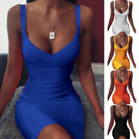 Sexy Elegant V Neck Bodycon Mini Dress Clubwear Cocktail Dresses Party Dress