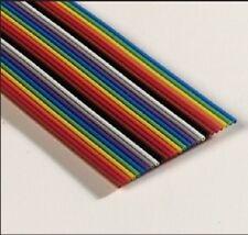 3M Flachbandkabel 34 polig farbig |3302/34-100SF| AWG28 | RM1.27 mm |30,5m|*Neu