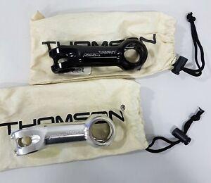 Thomson Elite X2 31.8mm (70-130mm) Aluminum Road Bicycle Stem (Black , Silver)