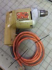 "Black & Decker 1/4"" Electric Drill Model 7004 Type 1 Drill - Working 2A 2500 RPM"
