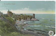 Postcard - St Andrew's Castle Fife Scotland posted 1912