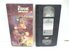 Ewok Adventure VHS Tape Movie Star Wars Warwick Davis George Lucas Planet Endor