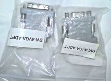 Link Depot DVI to VGA Adapter DVI-AVGA-ADPT (Lot of 2) NEW FREE SHIPPING