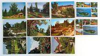 Postkarten Lot BODENSEE 11 x Insel MAINAU Ansichtskarten frankiert ab/nach 1964