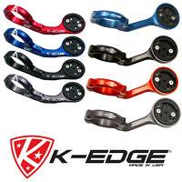New K-Edge CNC Aluminium Cycle Bike Computer Handlebar Mount XL Garmin Edge 1000