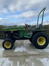 More details for john deere 855 compact tractor