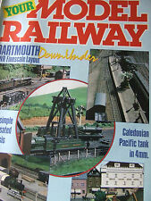 YOUR MODEL RAILWAY FEB 1987 DARTMOUTH GWR FINESCALE OO CHASSIS CALEDONIAN PACIFI