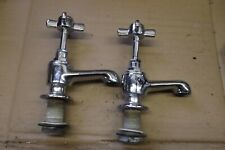 BATH TAPS, SINK TAPS, CHROMED, MADE BY LOTA   18