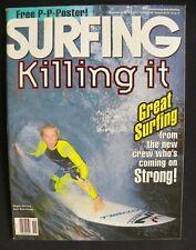 Surfing Magazine Uncirculated 1992 Vol.28 Nov. Surfing Hawaii Surfer Longboard