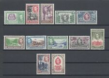 BRITISH HONDURAS 1938 SG 150/61 MNH Cat £200