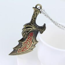 God Of War Game Necklace Sword OLYMPUS KRATOS Blades of Chaos Necklace