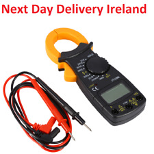 AC DC Voltage 600v LCD Digital Clamp Multimeter Electronic Buzzer Tester Meter