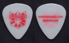 In Flames White/Red Glow Guitar Pick - 2008 Tour