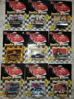 Lot of 9 Racing Champions 1991 Edition 1/64 Scales Petty, Martin, Wallace +more