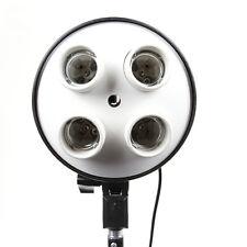 4 in 1 E27 Base Socket Light Lamp Bulb Adapter Umbrella Holder for Photo Softbox