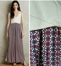 NWT $148 ANTHROPOLOGIE by MAEVE ELYSIAN COLORBLOCKED Jersey Maxi Dress L 12/14