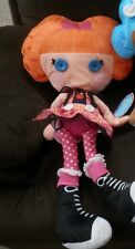"Lalaloopsy   BEA spells alot    Plush Doll 26"" Pillowtime Pals"