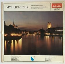 Mys Liebe Zuri Switzerland Lp Record Nm. Helvetia H-113