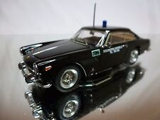 BANG 7302 FERRARI 250 GTE - SQUADRA MOBILE - POLICE - BLACK 1:43 - GOOD