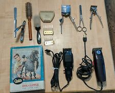 Vintage Oster & Pace Electric Dog Clippers, Both Working! + 3 Manual and more!
