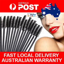 50x Disposable Salon Mascara Wands Eyelash Brush Eyelash Makeup Applicator Brush