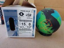 New listing New 15lb Brunswick Prism Solid Bowling Ball 21052