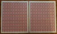 200 x Berlin 368 postfrisch 2 x kompletter Bogen Heinemann 90 Pf.Formnummer 1+2