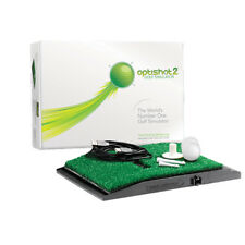 NEW OPTISHOT 2 GOLF SIMULATOR INFRARED SWING AID TRAINER PRELOADED COURSES