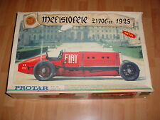 PROTAR ORIGINAL METAL 1/12 FIAT MEFISTOFELE MODEL KIT + Pocher Catalog