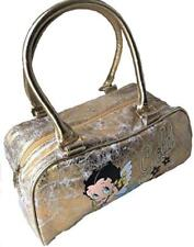Betty boop gold hand bag