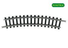 Minitrix 14984 Gleis gebogen R1 24° +++ NEU