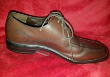 COLE HAAN AIR STYLAR SPLIT TOE OXFORD BROWN LEATHER MEN'S 8.5M NEW C10697 )
