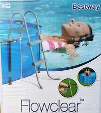 Bestway Poolleiter 76 - 84 cm Sicherheits Schwimmbadleiter Einstiegsleiter