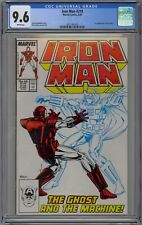 Iron Man #219 CGC 9.6 NM+ Wp 1st Ghost Appearance Key Marvel Comics 1987 Ant-Man