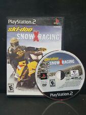 Skidoo Snow X Racing Ski-Doo Snowmobile Race PS2 Complete