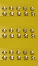 Lot de PASTILLES DE PHARES RONDES Diamètre 4 mm - Blanche