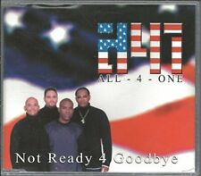 All 4 One Not ready 4 goodbye  [Maxi-CD]