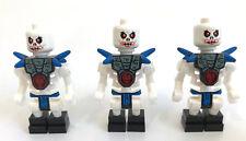 Lego Ninjago 3 Skelett Krazi Skelett Skelette 2116 Samukai passt 2504