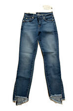 new 7 for all mankind Blue Skinny jeans 25