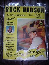 *RARE* 1956 Star Stories ROCK HUDSON by Jane Ardmore Deluxe Collections Edition